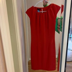 H&M red work dress!